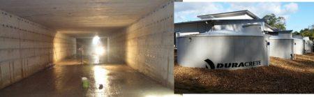 under ground RCC water tank