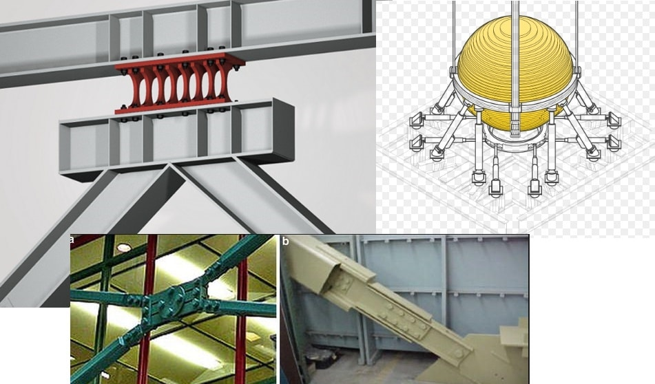 Seismic Dampers Types Working Mechanism And Components