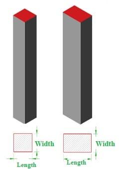 Minimum Thickness of Concrete Slab, Beam, Column, Foundation