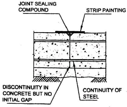 Types Of Joints In Concrete Water Tank Structures And