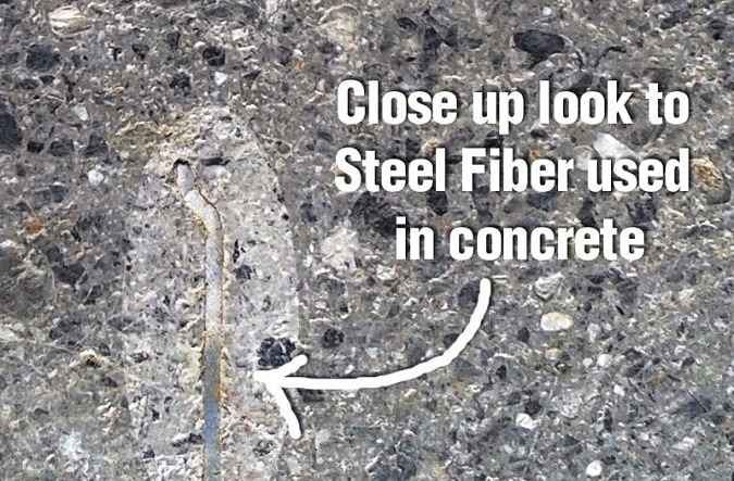 Concrete Fiber Mix : Applications of using steel fibers in concrete