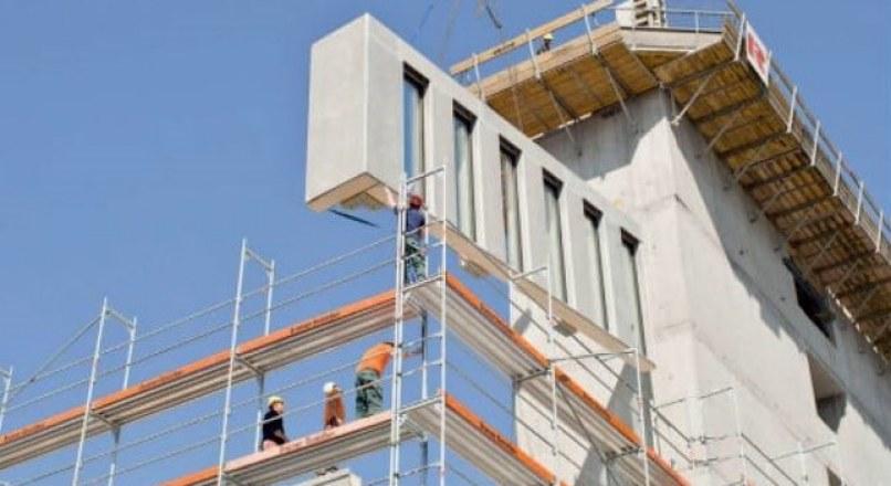 Hybrid Concrete Construction Technique and Structural Actions