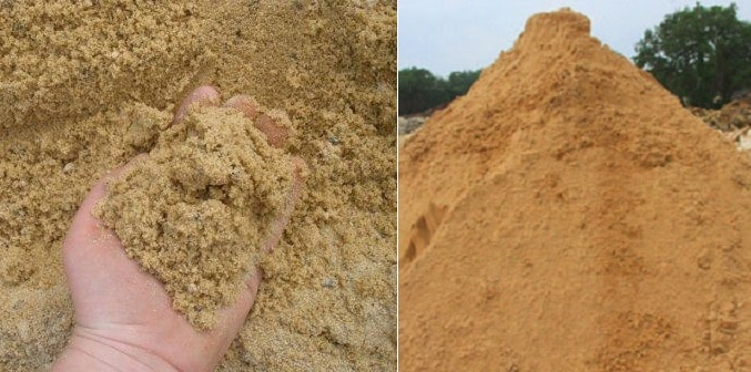 Testing Of Sand Quality At Construction Site For Concrete