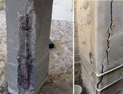 Methods of Concrete Column Repair for Damages and Cracks