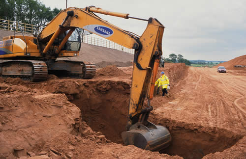 Excavation And Backfilling Of Soil Work Sequence And