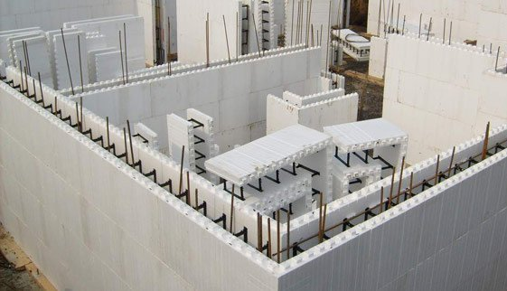 What is insulating concrete formwork how it is used in for Icf concrete forms for sale