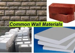 Common Wall Materials: Composition, Properties, and Applications
