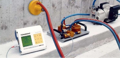 General arrangement of Concrete Permeability Tester