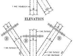 TYPICAL JOINT DETAILING OF STEEL HOLLOW SECTIONS