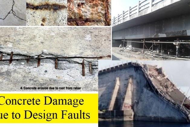 7 Common Design Faults Causing Damage to Concrete