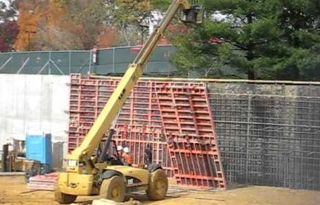 Formwork Erection