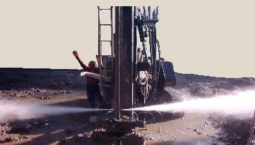 Jet grouting soil nail method
