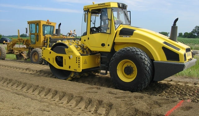 Different types of soil compaction equipments types of for Soil compaction