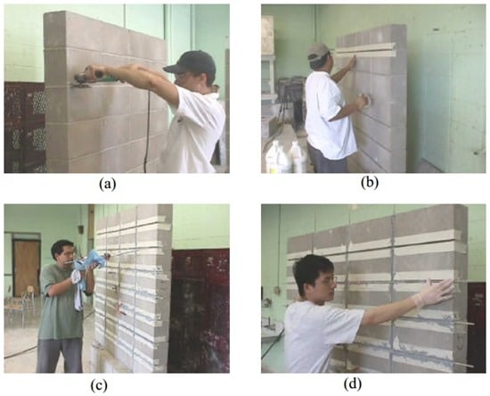 Strengthening of Masonry Walls using FRP Structural Repointing