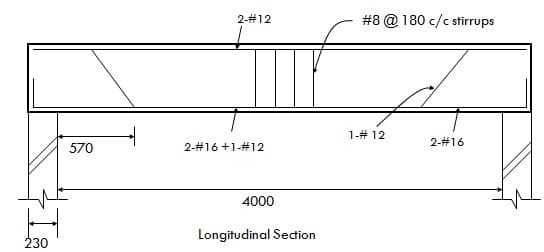 Rcc Columns And Beams : Bar bending schedule for rcc beam
