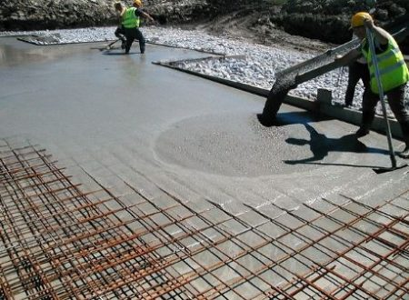 Self compacting concrete, high workability concrete
