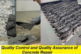 Quality Control and Quality Assurance of Concrete Repair