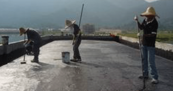 Bituminous Coating Waterproofing Method