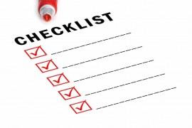Inspection Checklist for Concrete Placement