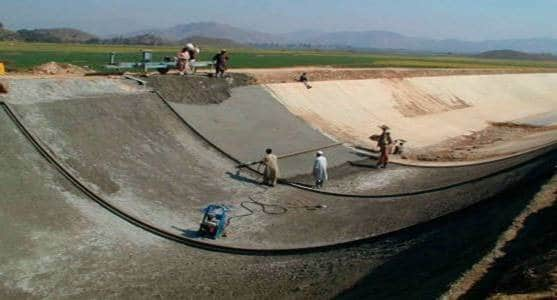 types of canal lining pdf