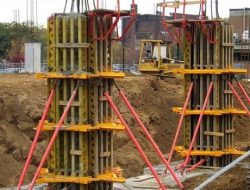 TYPES OF FORMWORK (SHUTTERING) FOR CONCRETE CONSTRUCTION