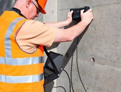What is Ultrasonic Testing of Concrete for Compressive Strength?