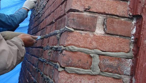 Types of Pointing in Brick Masonry Construction