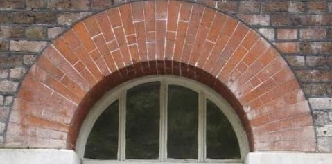 Axed brick arches