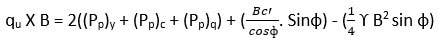 Bearing capacity of soil calculation - Terzaghi's Formula