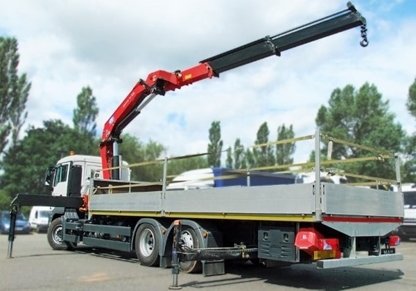 Types of Cranes - Vehicle Mounted Crane