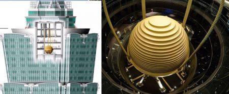 Tuned mass damper of Taipei structure