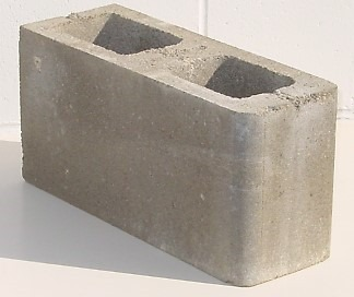 Bull Nose Concrete Block
