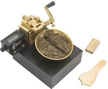 Liquid Limit Test on Soil - Casagrande's Apparatus