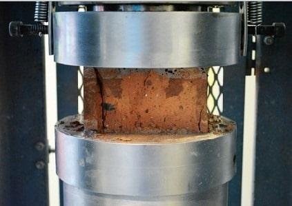 Compressive Strength Test on Bricks
