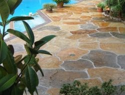 Stamped Concrete and Its Preparation and Construction Methods