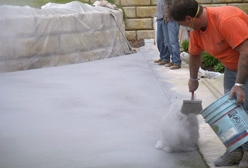 Stamped Concrete Powdered and Liquid Release Agents