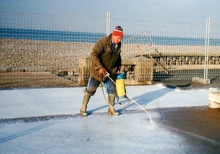 Application of Concrete Curing Compound