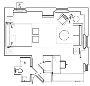 Size of Guest Room