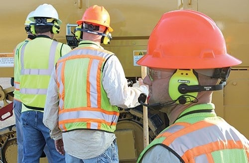 Hearing Protection at Construction Site