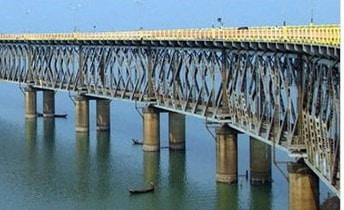 Road cum Railway Bridge
