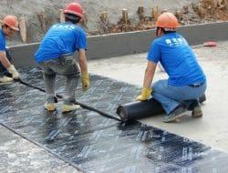 Roof Waterproofing Using Bituminous Waterproofing Membrane Sheet