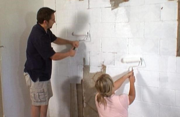 Lovely Waterproof Cinder Block Basement Walls