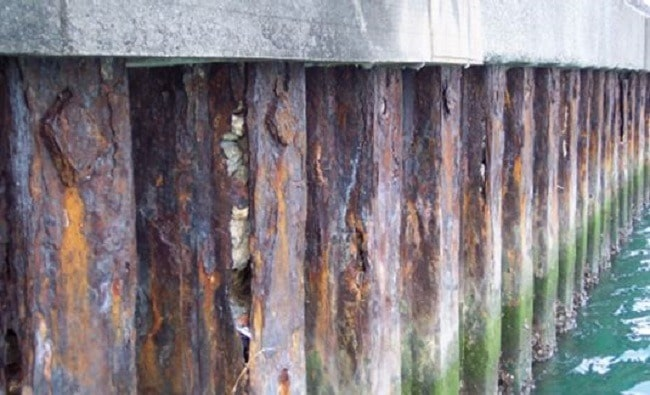 Corrosion Protection Methods for Underwater Piles