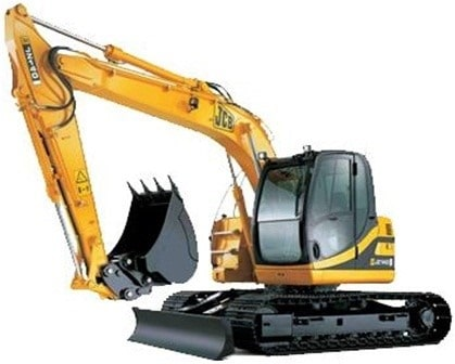 Demolition Of Buildings Using Excavators