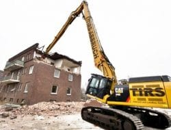 Demolition Methods and Process for Building Structures
