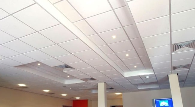 types of false ceilings and its applications