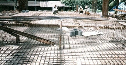 Use of Prefabricated Welded Mesh in Flat Slabs