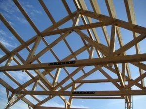 Timber Roof Trusses in Buildings