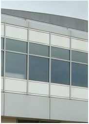 Mullions and Transoms of a Curtain Wall