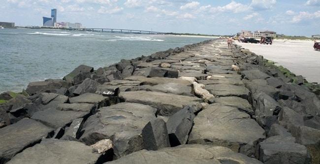 Jetty Construction for Coastal Protection